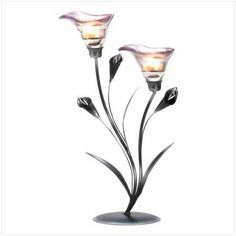 10 ELEGANT CALLA LILY CANDLEHOLDER WEDDING CENTERPIECE by Gifts For Him Or Her. $250.00