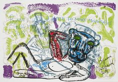 Bjarne Melgaard - u. Waves, Fine Art, Artwork, Kunst, Work Of Art, Auguste Rodin Artwork, Artworks, Ocean Waves, Visual Arts