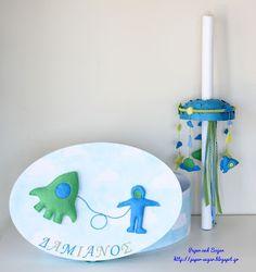Paper and Sugar: Η βάπτιση του Δαμιανού Handmade Decorations, Christening, Sugar, Paper, Blog, Blogging