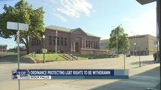 City plans to withdraw anti-discrimination ordinance | #ksfynews | #LGBT #laws #ordinances #discrimination #localgov #siouxfalls #southdakota