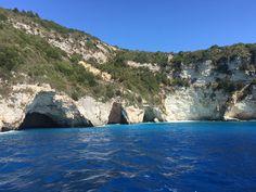 Blue caves, Greece near Corfu