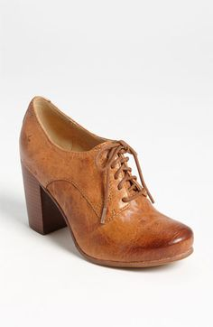 Things I need for fall : Frye 'Carson Oxford' Pump available at #Nordstrom
