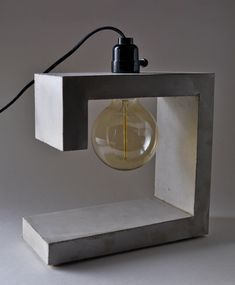 G-Spot Handmade Concrete Table Lamp #ConcreteLamp