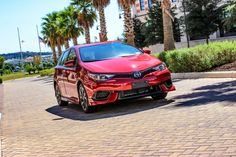 Scion iM in Barcelona Red 👌 Red Mccombs, Scion, Toyota, Barcelona, Bmw, Vehicles, Barcelona Spain, Car, Vehicle