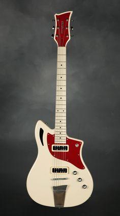 La Tyyster, une merveille retro signé Pelti Guitars. Retrouvez des cours de #guitare d'un nouveau genre sur MyMusicTeacher.fr