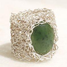 Crochet Wire Ring - Kate Pullen