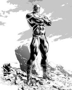 Captain Britain by Mike Deodato