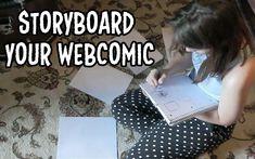 HOW TO: Storyboard your comic! | The Comic Paige | Lets Make Webcomics #webcomics #comics #howto