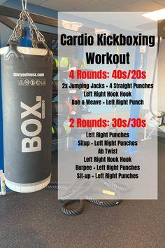 "Cardio Kickboxing Workout - Bodyweight Home Fitness - Try out the Bodyweight from the Fitness ""All Access"" Tra - Mma Workout, Workout Men, Workout Plans, Kickboxing Workout, Workout Bodyweight, Cardio Fitness, Fitness Exercises, Fitness Tips, Punching Bag Workout"