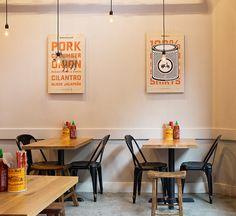 Bun Mee Vietnamese sandwich shop by zero ten design San Francisco California 04
