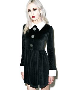 2016 Mulheres outono Inverno Mini Vestido A-Line Vestido De Veludo Preto Turn-down Collar Mangas Compridas Patchwork Vestidos Elegantes roupas
