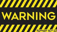 """Calvary Chapel Emmett · Romans 16:17-27 """"Warning"""" w/ Pastor Michael Hughes"""