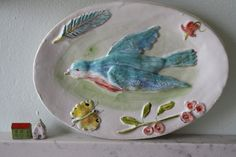 a friend by Julie Whitmore Pottery, via Flickr
