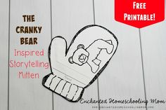 Celebrate what makes everyone special with a fun storytelling mitten craft reading comprehension craft inspired by the storybook the Very Cranky Bear!