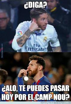 954844 - El mensajito de Messi a Sergio Ramos
