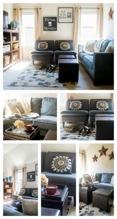 Learn How To Remake A Room With Curtains Pillows Rug And More Home Decor Products From Biglots Real Life Example Of