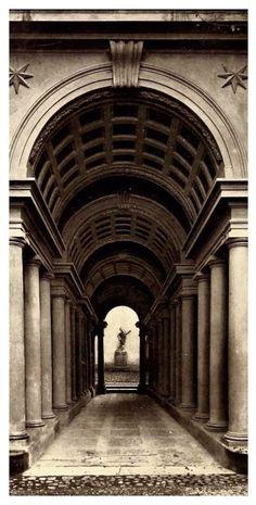 Galería Spada, Francesco Borromini, 1652-3