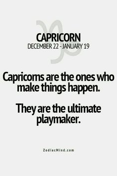 #theultimateplaymaker #capricorns