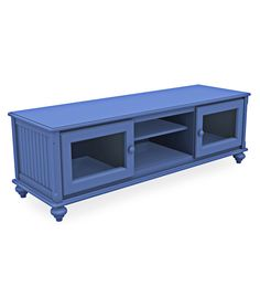Perfect for flat screen tv's, the Cottage Low Wide TV Stand stores all of your audio/video equipment easily. Customizable cottage furniture. Made in USA.