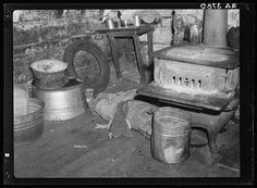 14. Inside a Corbin Hollow home, 1935.