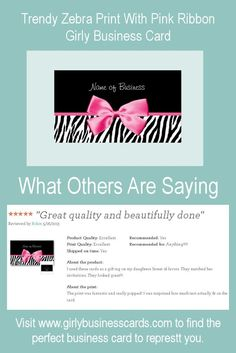 A modern and trendy pink and black leopard print fashion boutique a modern and trendy pink and black leopard print fashion boutique business card with a girly ribbon tied into a cute bow a designer animal pattern reheart Images