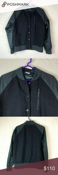 nike destroyer varsity bomber jacket wool 394688 asa1839