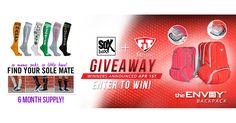 Enter the Fitmark/TheSoxBox Collab Giveaway for your chance to find your sole mate and win a 6 months supply.