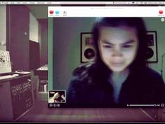 Duet father (in Jakarta, Indonesia) and daughter (in Los Angeles, USA) playing God Bless The Child over Skype..