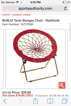 I really want this chair but in a different color such as pink or teal! I love it!!!!!