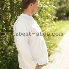 Белая мужская рубашка от MEDUSA, артикул МД15002 Big Men, Chef Jackets, Shirts, Tall Men, Shirt, Dress Shirts, Dress Shirt, Top, Sweaters