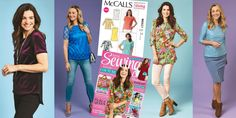 McCalls get this 6 in 1 free pattern worth in issue 36 of Love Sewing! Love Sewing, Dressmaking, Lily Pulitzer, Free Pattern, Dresses, Fashion, Sew Dress, Vestidos, Moda