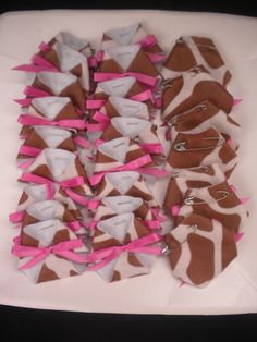 48pc Dirty Diaper Game Baby Shower Giraffe Theme Pink Safari Jungle Pink or Blue on Etsy, $18.99