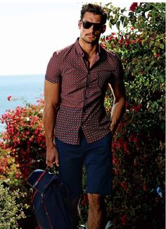 David Gandy for Selected Summer 2014 David Gandy Style, David James Gandy, Smart Casual, Men Casual, Stylish Men, Dolce E Gabbana, Perfect Man, Summer Looks, Male Models