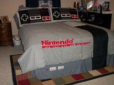 Draps coussins Nintendo