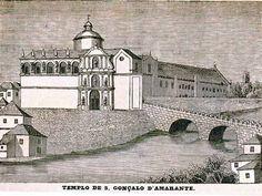 A ponte medieval de Amarante revisitada Douro, Medieval, Portugal, Villa, Mansions, House Styles, Monuments, Mid Century, Fancy Houses