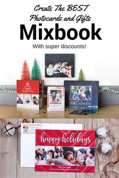 Create the best holiday photo cards and personalized gifts at Mixbook, plus save a bundle doing it with special offers this holiday season!