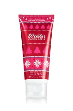 hand creams from Bath & Body Works with new Christmas scents // December favorites