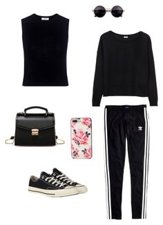 """""""Day Off"""" by inez-cph on Polyvore featuring Kate Spade, A.L.C., Madewell and Converse"""