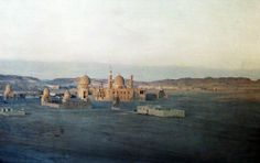 The mosque-like Tomb of Caliphs near Cairo holds Luxor and arab heros