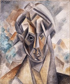 Pablo Picasso - Head of Woman (Fernande Olivier), 1909