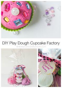 DIY Play Dough Cupcake Factory