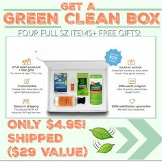 HOT DEAL ALERT My boxed shipped can't wait to share this (4) full size natural|green|eco friendly items plus (2) gifts for $4.95 shipped Click the link in my bio @tomorrowsmom or >> http://tmget.info/cleangreenbox . Brands like Babyganics Seventh Gen E-Cloth and even new green brands in the market! . Hurry get yours! . #frugal #savings #deals #cosmicmothers #feminineenergy #loa #organic #fitmom #health101 #change #nongmo #organiclife #crunchymama #organicmom #gmofree #organiclifestyle…