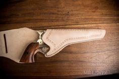 How to Make a Leather Holster - Mr. Leather Art, Sewing Leather, Leather Tooling, Diy Leather Holster, Leather Projects, Leather Crafts, Leather Front Pocket Wallet, Western Holsters, Diy Table Saw