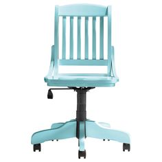 Mix and Match Bankers Chair in Surf Blue from PoshTots