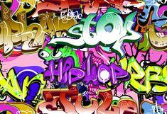 Wild Style Graffiti Removable Wallpaper Self Adhesive Wallpaper Extra Large Peel & Stick Wal Graffiti Wallpaper, Paper Wallpaper, Self Adhesive Wallpaper, Party Photography, Photography Backdrops, School Photography, Professional Photography, Digital Photography, Art Background