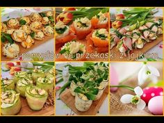 Polish Recipes, Fresh Rolls, Baked Potato, Appetizers, Snacks, Cooking, Ethnic Recipes, Youtube, Cook