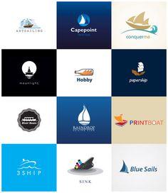 33 Beautiful Boat #Logos
