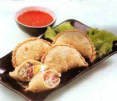 """Jalangkote"", Culinary Of Makassar City, South Sulawesi, Indonesia"