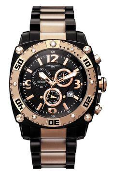 56eb2555950a Jorg Gray JG9800-14 - Reloj cronógrafo de caballero de cuarzo con correa de  acero