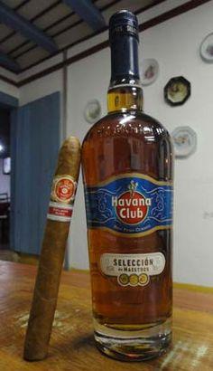 Rum and Cigar, the Cuban him perfect combination Good Cigars, Cigars And Whiskey, Scotch Whiskey, Cigar Humidor, Cigar Bar, Tatuaje Led Zeppelin, Havana Club Rum, Cigars And Women, Daiquiri